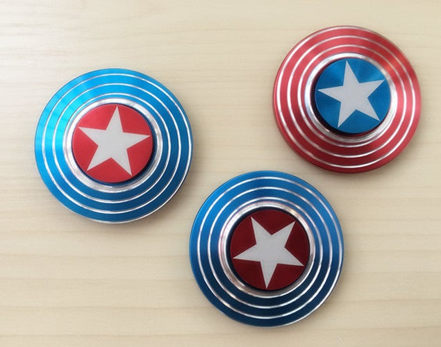 New Captain America Fidget Hand Spinner Shield EDC Focus Toy & Carring Case for ADHD  Be the first to write a review.