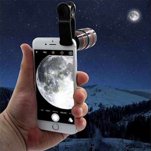Phone Telescope,Transform Your Phone Into A Professional Quality Camera!! HD360 Zoom Hot