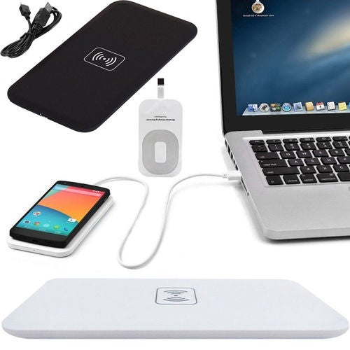QI Wireless Power Fast Charger Charging Pad Receiver For Samsung iPhone7 Phones