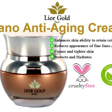 Lior Gold Paris NANO Anti-aging Cream