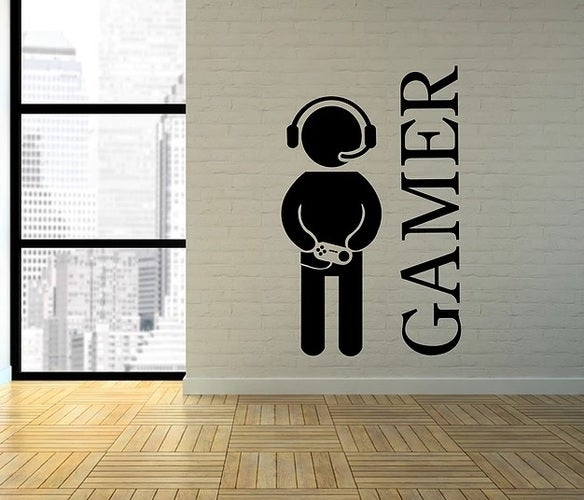 Gamer room decal or punisher jeep  hood decal