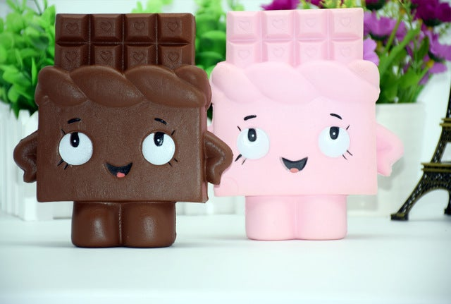 Pu Environmental Protection Squishy Toy  Chocolate Model Home Kitchen Decoration