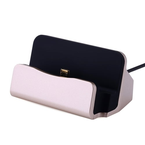 Aluminum Alloy Micro USB Charging Sync Dock for Android(4 Color)