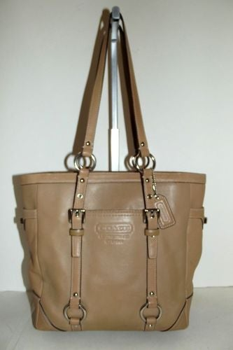 Coach Lunch Tote-CAMEL-11524 | Tophatter