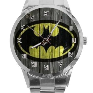 Hero Batman Wooden Print Custom New Modern Women Men's Personalized Stainless St