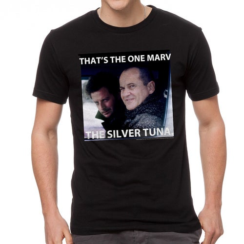 Home Alone That's The One Marv Quote Men's Black T-shirt