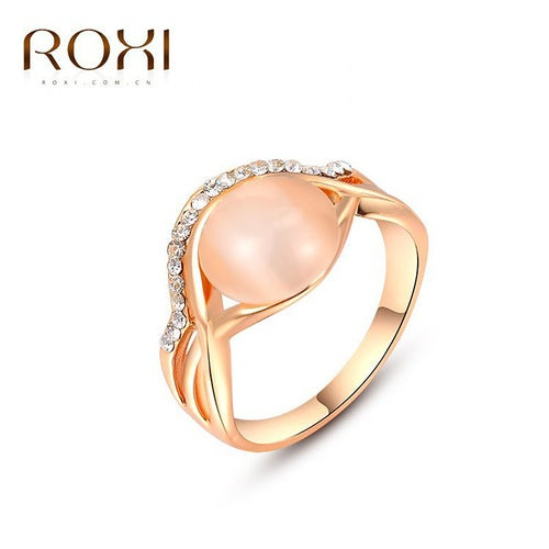Rose Gold Opal Opal Ring