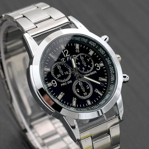 Full Stainless Steel FHD Quartz Watch