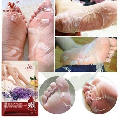 Remove Dead Skin Ginger and Lavender Nourished Caring Foot Mask Foot Mask Peelin