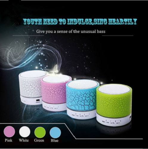 Portable Bluetooth Wireless Bass Speaker Handsfree For Smart Phone