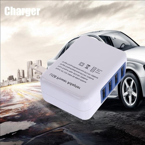 Home Wall 4USB Power Supply Adapter 5.0V 3.1A Travel Wall Charger Smartphones Tablets Digital Camera