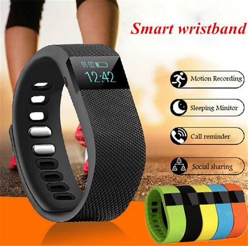 Hot Sport Bracelet Bluetooth 4.0 Smart Wristband Smartwatch Digital-watch Pedometer APP For iPhone Samsung Android IOS