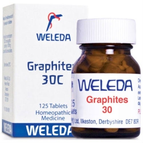 Weleda Graphites 30c 125 tablet