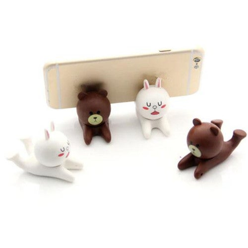 1 PCS New Hot Mobile Cartoon Holder Cute Cell Phone Holder Fashion Phone