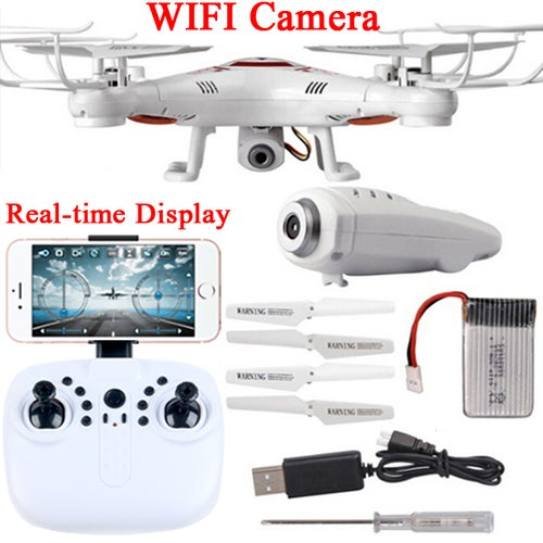 Newest Wifi FPV Quadcopter X5UW Drones with Camera hd Professional Remote Control Helicopter Dron RC