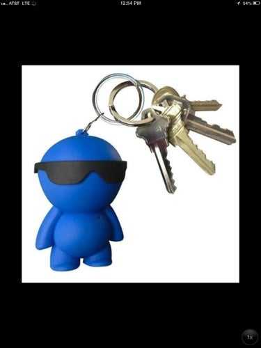 Ihip Little Speaker Dude Blue Recharge Last Up To 4 Tophatter
