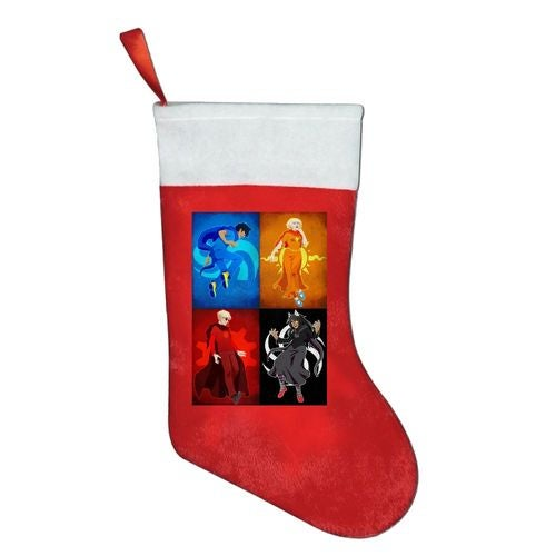 homestuck trolls Christmas Stocking Sock Gift Candy Hanging Bag Santa Claus Snowman Home Decoration