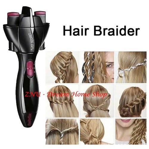 Braided Hair Styling Tools Electric Machine Shares Tails Braided