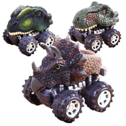 Hot Fasion Dinosaur Model Car Toys Pull Back Kids Children Cool Toys Gift