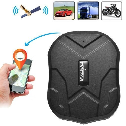 GPS Tracker with Strong Magnet for Car/Vehicle/Van Truck Fleet Management GPS Locator Realtime Accurate Location Device Waterproof 90 Days Long Standby Remove Alarm Free Tracking Platform TK905