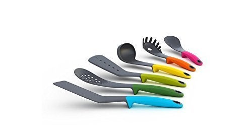 MareLight 6-piece Colorful Kitchen Utensil Set Knife Set Nylon Utensils Set  Durable Heat-resistant Cooking Utensils Non-