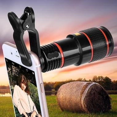 New 8X Zoom Phone Camera Telephoto Telescope Lens