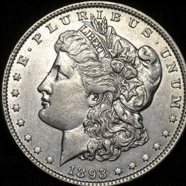 Replica 1893-S Morgan Silver Dollar - Rarest Date of the Morgan Silver Dollar Se