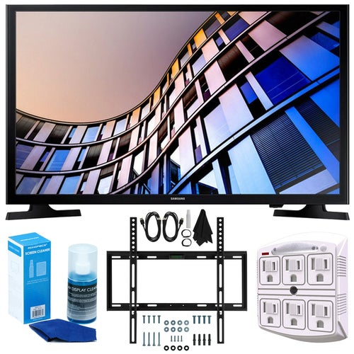 Samsung 27.5 720p Smart LED TV (2017 Model) + Wall Mount Bundle