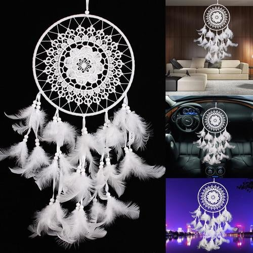 New Dream Catcher with Feathers Wall Hanging Decoration Ornament Gift