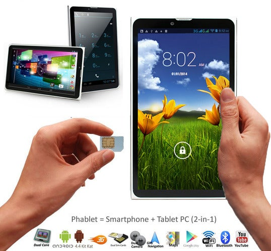 XGODY M874 7 inch 3G Tablet PC Android 4 4 MT6572 Du