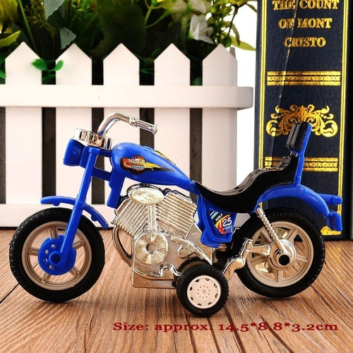 2017 Hot Plastic Motorcycle Toy Model Hobby Toys Replace Kids Gift Boys & Girls Random (Size: 2)