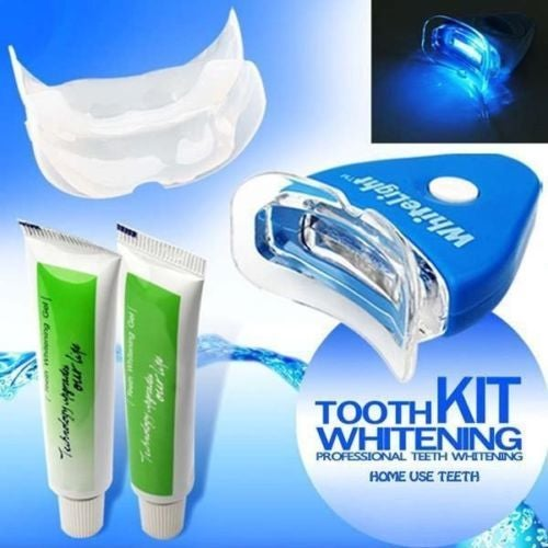 Pro Home Kit White Light Teeth Whitening Tooth Health Gel Oral Care Cleaner