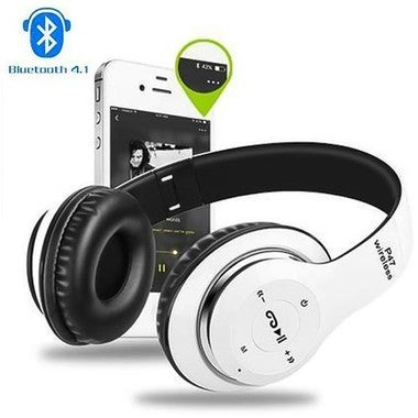 CNN Headphones Wireless Music Auriculares Foldable Headset Bluetooth With MIC Su