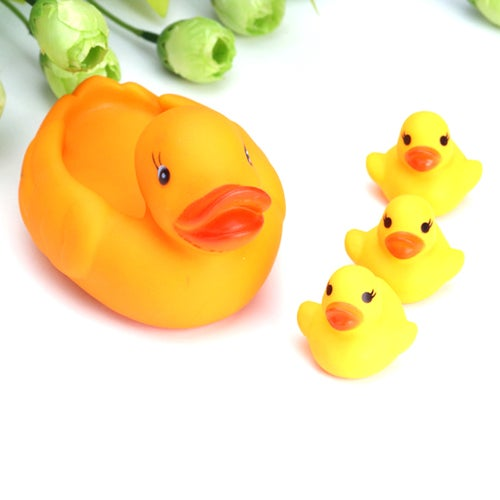 Home Four Mouth Mother Duck Baby Bath Water Play