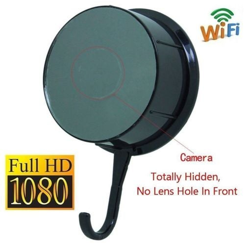 Mini 1080P WIFI Wall Hook Hidden Camera Wireless Spy Camcorder Motion Dection Remote View