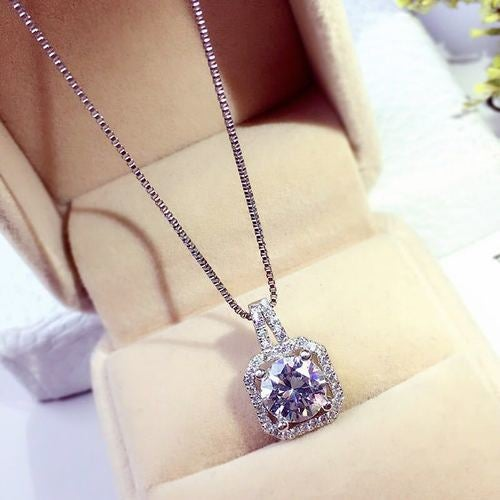 Fashion Crystal Wedding Jewelry For Women Necklaces