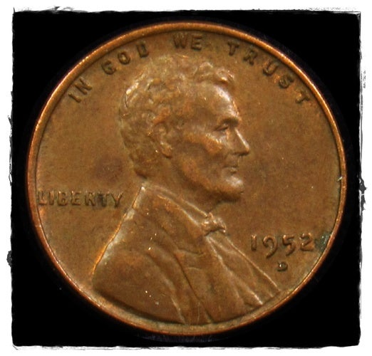 ★1952D★  Lincoln Wheat Cent