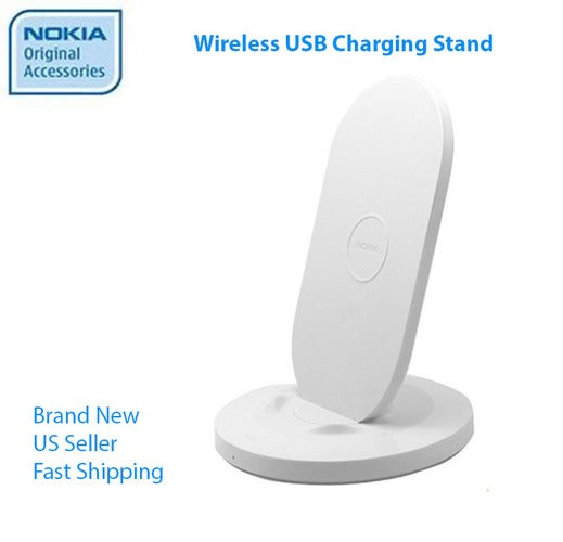 Nokia Wireless Charger - Charging Dock - Charging Stand DT-910 Authentic (White)
