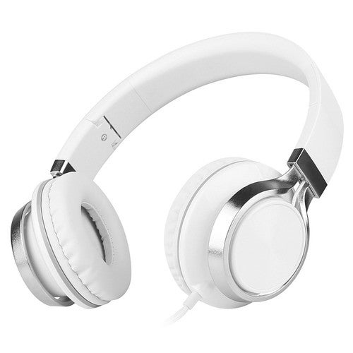 Sound Intone HD200 3.5mm Headphones On-ear Headsets Super Bass Stereo Sound Hands-free with Mic for Smart Phones PC