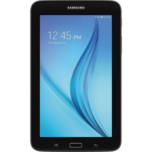 Samsung Galaxy Tab E Lite 7.0 8GB (Wi-Fi) Black Accessory Bundle