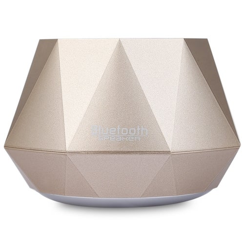 S-609 Mini Bluetooth Wireless Diamond Design 3.0 + EDR Stereo Speaker With Built-in Microphone
