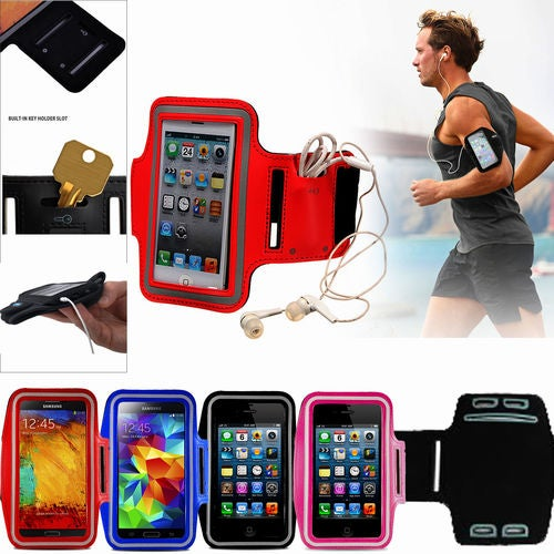 Hot Sports Running Gym Armband Case Pouch Holder For For iPhone 7 6 6S Plus 5S SE