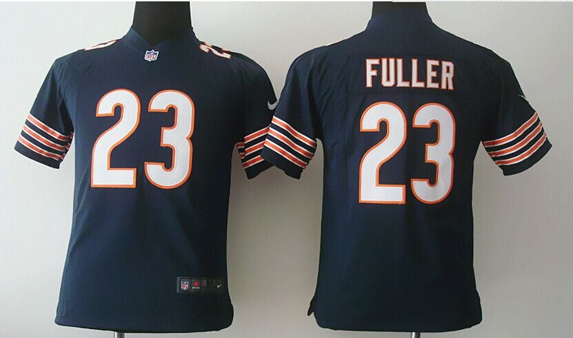 Chicago Bears #23 fuller blue Youth Jersey