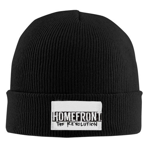 Homefront The Revolution HTR Logo Unisex Adult Print Beanie Caps Adjustable Knitted Hat