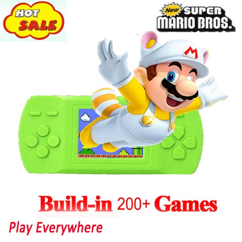 Portable 200+ Games Console Portable Video Game Handheld Player Built-in 268 Games Nice Gift