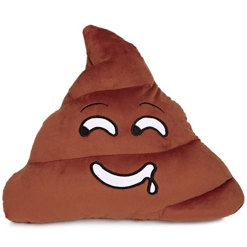 Cute Poop Expression Drool Emoticon Pillow Stuffed Plush Toy Home Decoration Christmas Gift