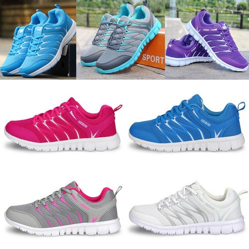 Fashion Women's Athletic Breathable Trainers Sneakers Sport Casual Running Shoes