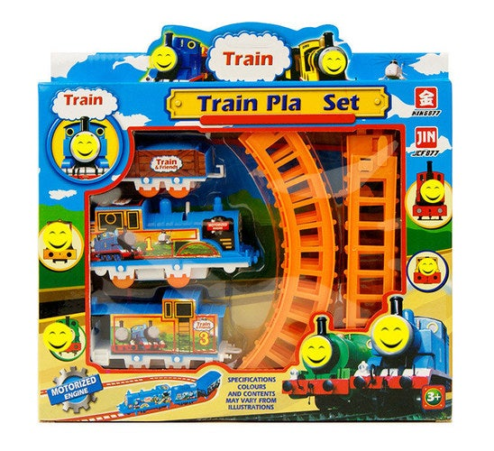 Electric Rail Car Track Toy Best Christmas Gift !!!