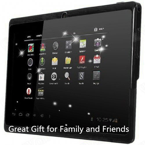 Great Gift for Christmas 7 Inch Wifi Tablet Android 4.4 Quad Core 8GB 512MB RAM Dual Camera Allwinner A33 Tablet