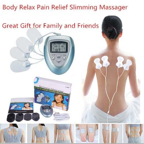 Great Gift for Christmas Full Body Relax Pain-Relieve Therapy Massager Slimming Electric Slim Pulse Massager